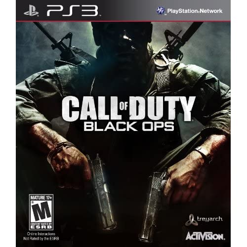 PS3 Call Of Duty Black Ops For PlayStation 3 COD Shooter