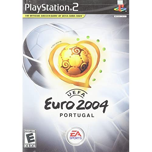 Uefa Euro 2004: Portugal For PlayStation 2 PS2 Soccer With Manual and