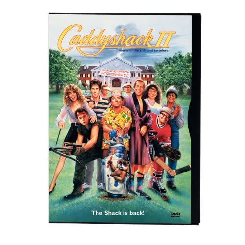 Image 0 of Caddyshack 2 On DVD With Jackie Mason Comedy