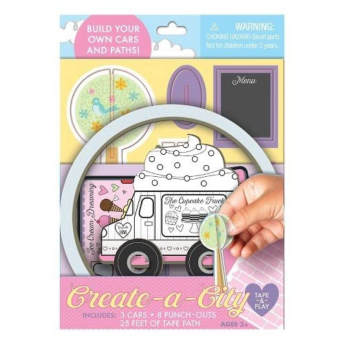 Create A Car Tape Set Girls