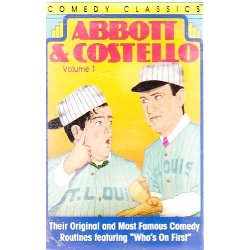 Image 0 of Comedy Classics: Abbott And Costello Volume One By Abbott And Costello On Audio