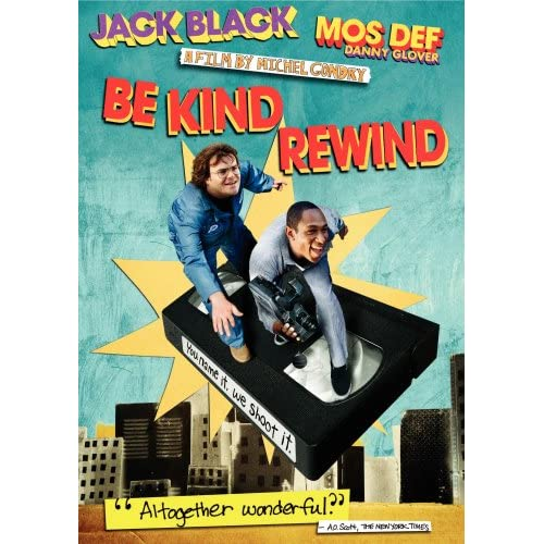 Image 0 of Be Kind Rewind On DVD With Jack Black Music And Concerts Music & Concerts