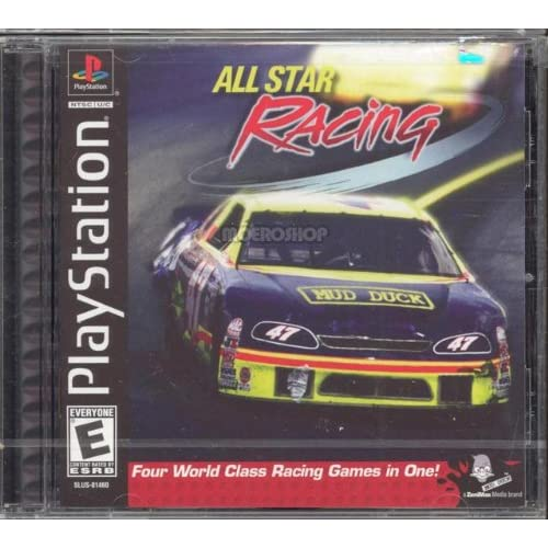 All Playstation 1 Games : All star racing for playstation ps