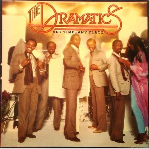 Dramatics Anytime Anyplace Lp Record 57748 On Vinyl