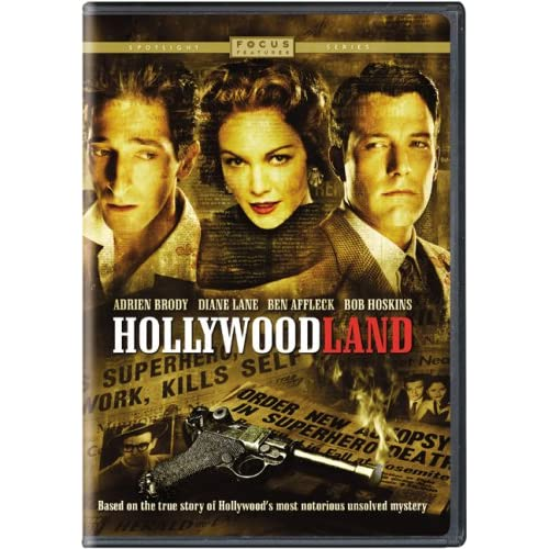 Image 0 of Hollywoodland Widescreen Edition On DVD With Adrien Brody Mystery