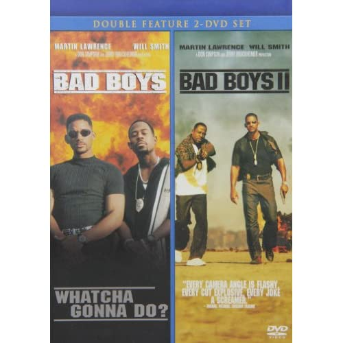 Image 0 of Bad Boys / Bad Boys 2 Double Feature 2 On DVD Mystery