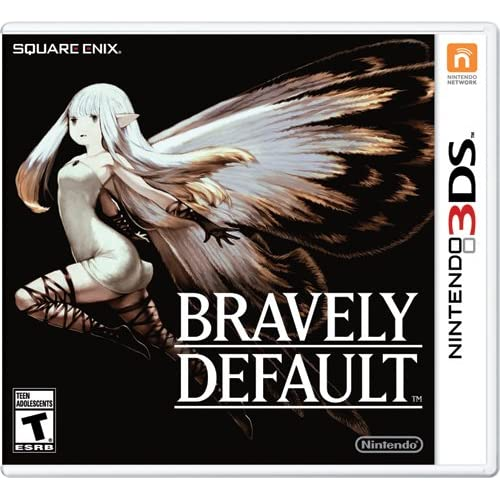 Bravely Default Nintendo For 3DS RPG With Manual And Case