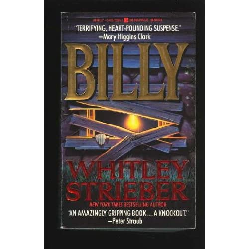 Billy By Strieber Whitley Book Paperback