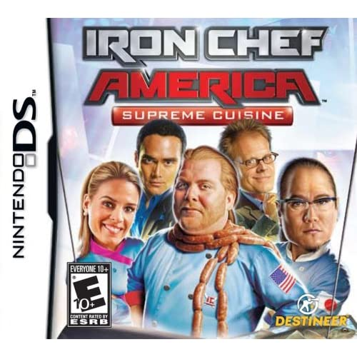 Image 0 of ]Iron Chef America/Supreme Cuisine - For Nintendo DS DSi 3DS