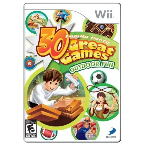 Image 0 of Family Party: 30 Great Games Outdoor Fun For Wii Arcade