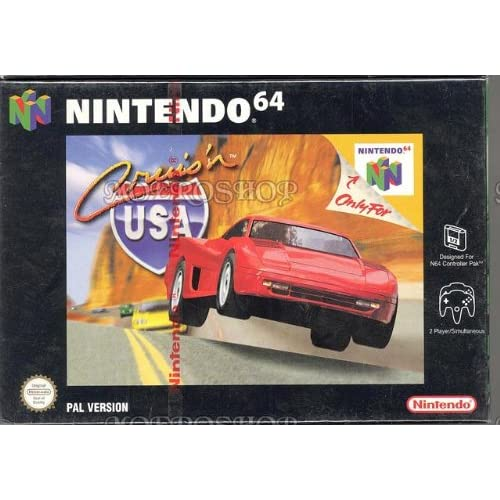 Cruis'n USA For N64 Nintendo