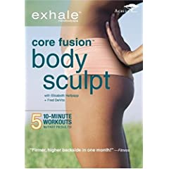 Exhale: Core Fusion Body Sculpt DVD