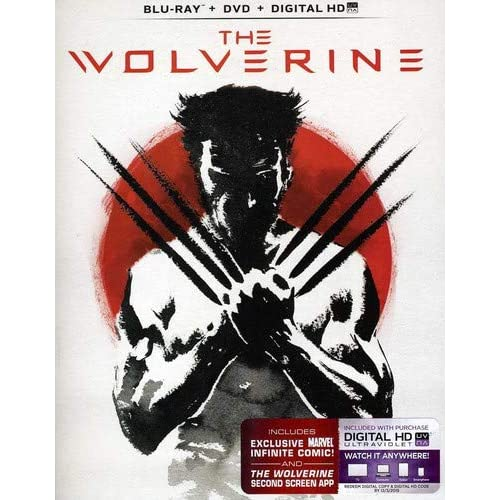 Image 0 of The Wolverine Blu-Ray Digital HD With Ultraviolet On Blu-Ray With Hugh Jackman