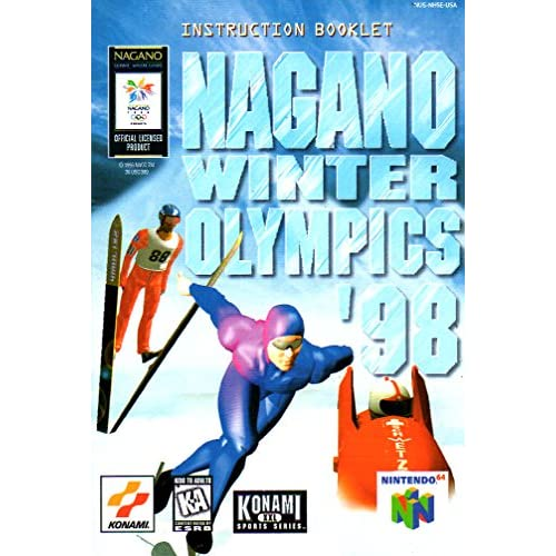 Image 0 of Nagano Winter Olympics 98 Nintendo 64 Only No Game Pamphlet Only No Game Include