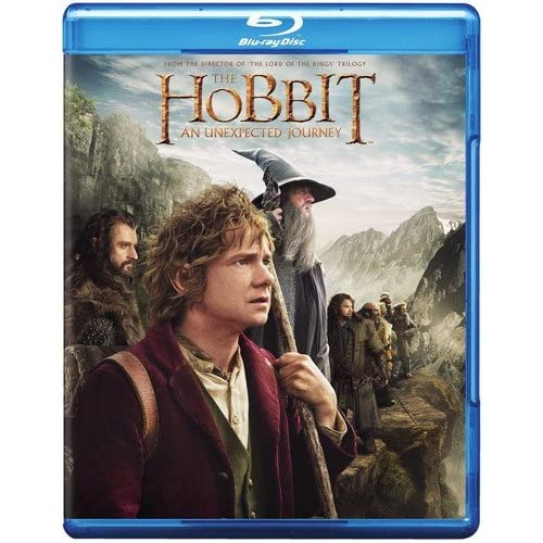 Image 0 of The Hobbit: An Unexpected Journey Blu-Ray On Blu-Ray With Ian Mckellen