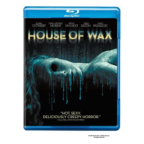 Image 0 of House Of Wax Blu-Ray On Blu-Ray With Chad Michael Murray Horror