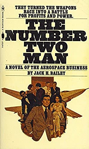 The Number Two Man 297x500p Bantam Books 1968, ISBN 0553047272