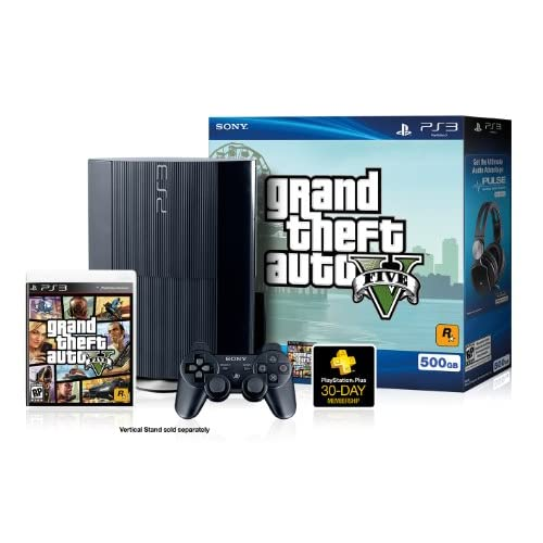 Image 2 of PS3 500 GB Grand Theft Auto V Bundle Super Slim Console