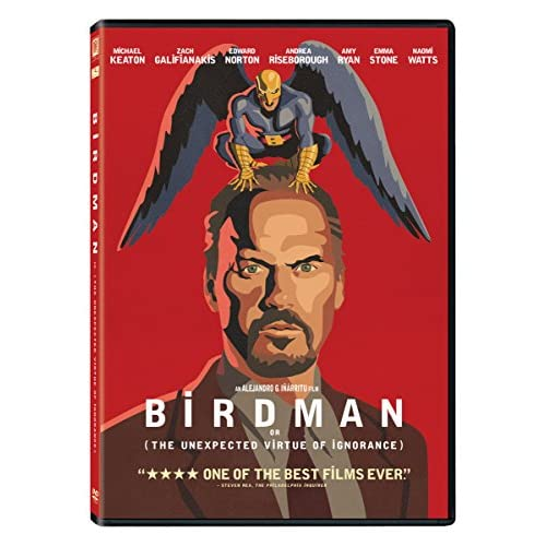 Image 0 of Birdman On DVD With Michael Keaton Comedy