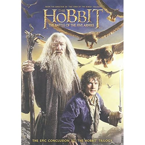 Image 0 of The Hobbit: The Battle Of The Five Armies DVD Ultraviolet On DVD With Martin Fre