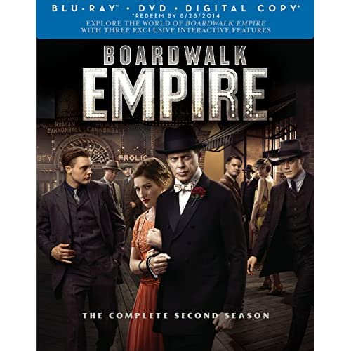 Image 0 of Boardwalk Empire: Season 2 Blu-Ray/dvd Combo On Blu-Ray With Steve Buscemi