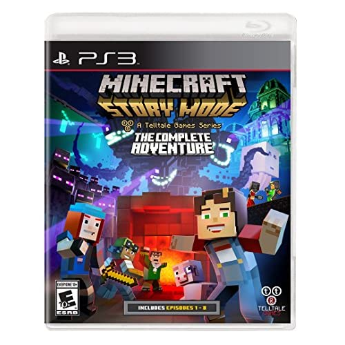 Minecraft: Story Mode The Complete Adventure For PlayStation 3 PS3