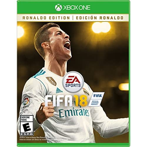 Image 0 of FIFA 18 Ronaldo Edition For Xbox One Soccer