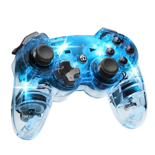 Afterglow Wireless Controller Blue For PlayStation 3 PS3 Gamepad
