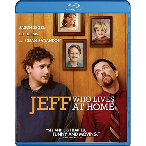 Image 0 of Jeff Who Lives At Home Blu-Ray On Blu-Ray With Jason Segel Comedy