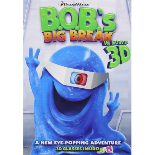 Image 0 of Bob's Big Break Anaglyph 3D On DVD With Seth Rogen