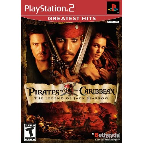 Image 0 of Pirates Of The Caribbean The Legend Of Jack Sparrow For PlayStation 2 PS2 Action