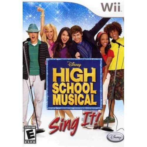 Image 0 of High School Musical Sing It Game Only For Wii And Wii U