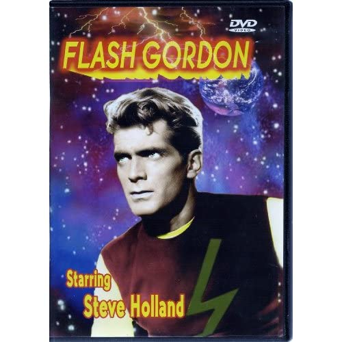 Image 0 of Flash Gordon On DVD With Steve Holland