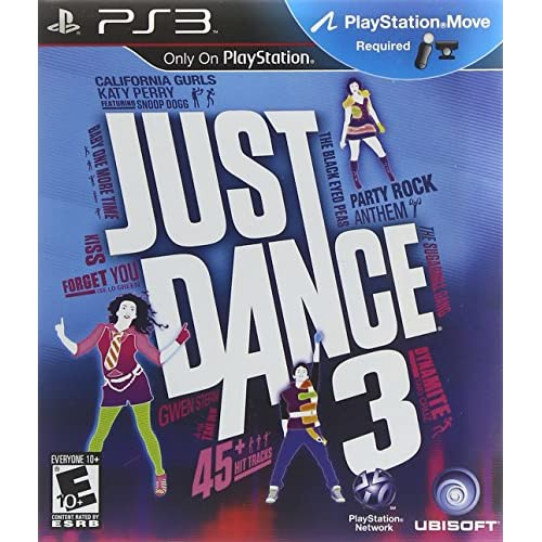 Just Dance 3 For PlayStation 3 PS3 Music