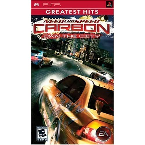 Image 0 of Need For Speed Carbon: Own The City Greatest Hits Sony For PSP UMD Racing