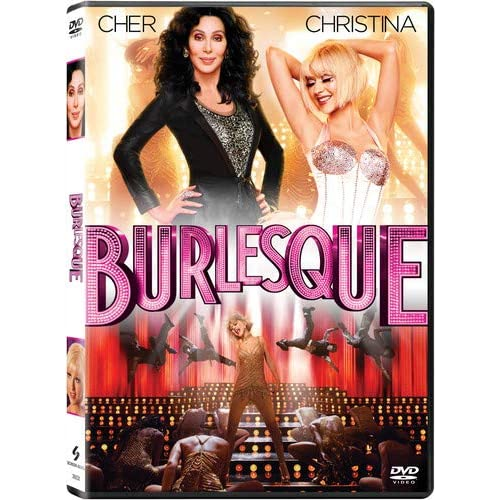 Image 0 of Burlesque On DVD With Cher Drama