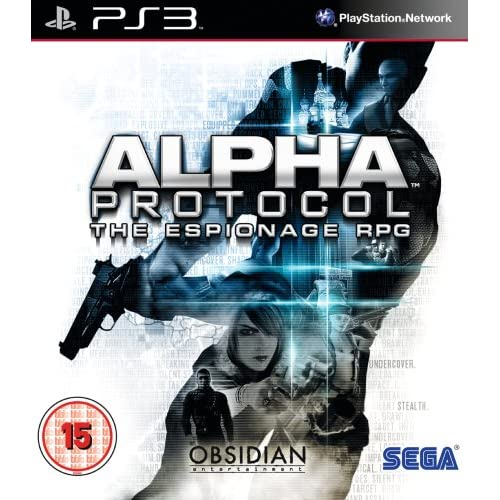 Alpha Protocol For PlayStation 3 PS3 RPG