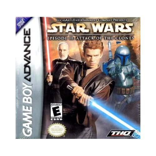 Image 0 of Star Wars Episode II: Attack Of The Clones For GBA Gameboy Advance