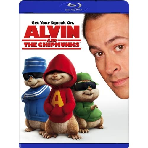 Alvin And The Chipmunks Blu-Ray On Blu-Ray With Jason Lee