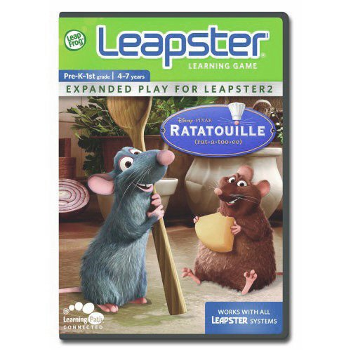 Image 0 of Leapfrog Leapster Learning Game: Ratatouille For Leap Frog Arcade