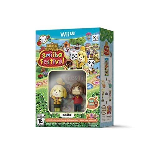 Animal Crossing: Amiibo Festival Bundle For Wii U