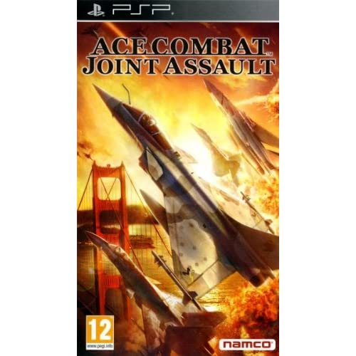 Ace Combat: Joint Assault Sony For PSP UMD Flight