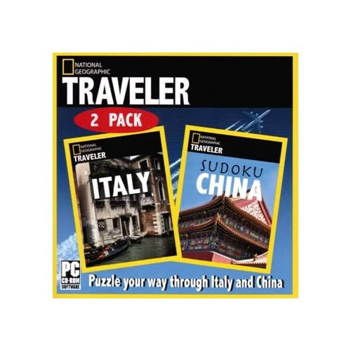 Image 0 of National Geographic Traveler 2 Pack: Italy Sudoku China Software PC