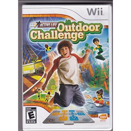 Active Life Outdoor Challenge Game Only For Wii Puzzle With Manual and Case