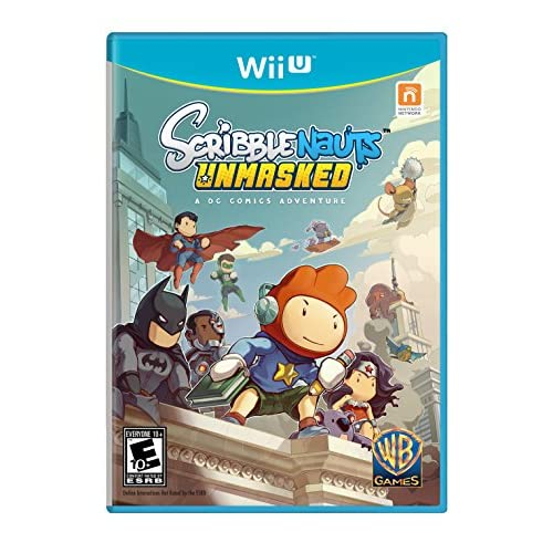Image 0 of Scribblenauts Unmasked A DC Comics Adventure For Wii U