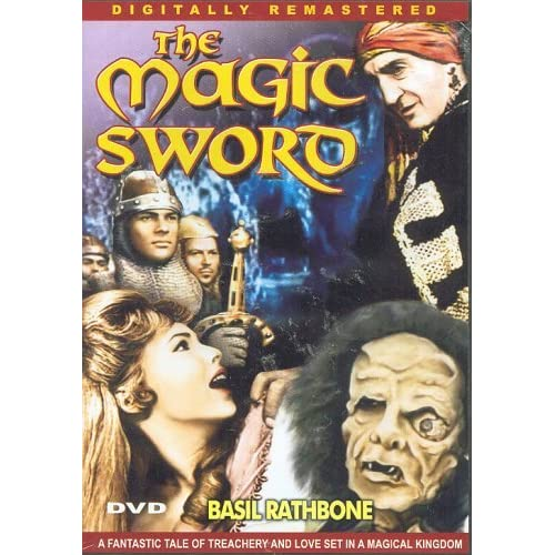 Image 0 of The Magic Sword Slim Case On DVD With Basil Rathbone