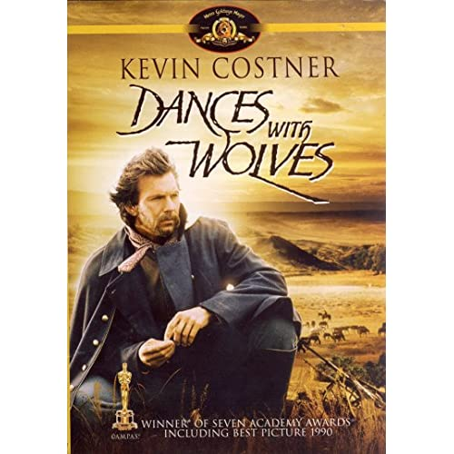 Image 0 of Dances With Wolves Full Screen Theatrical Edition On DVD With Kevin Costner