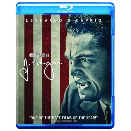 Image 0 of J Edgar Movie-Only Edition Blu-Ray On Blu-Ray With Leonardo Dicaprio