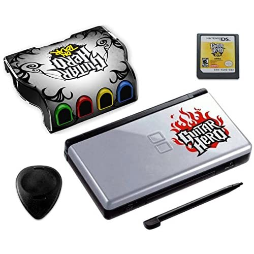 Nintendo DS Lite Guitar Hero: On Tour Bundle Black/silver