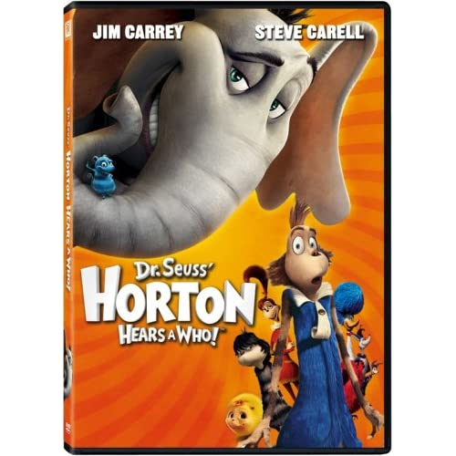 Horton Hears A Who Single-Disc Edition On DVD With Jim Carrey